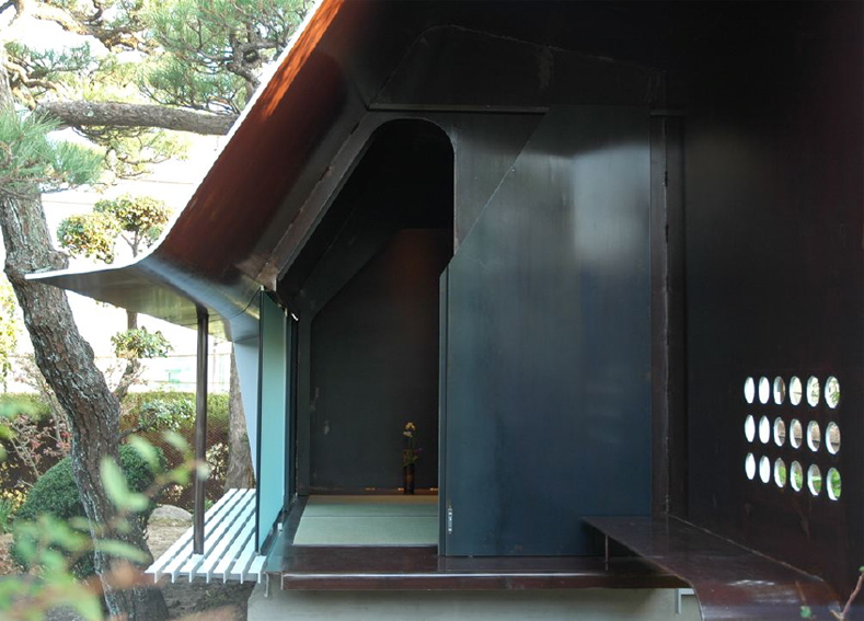Steel sheet Teahouse